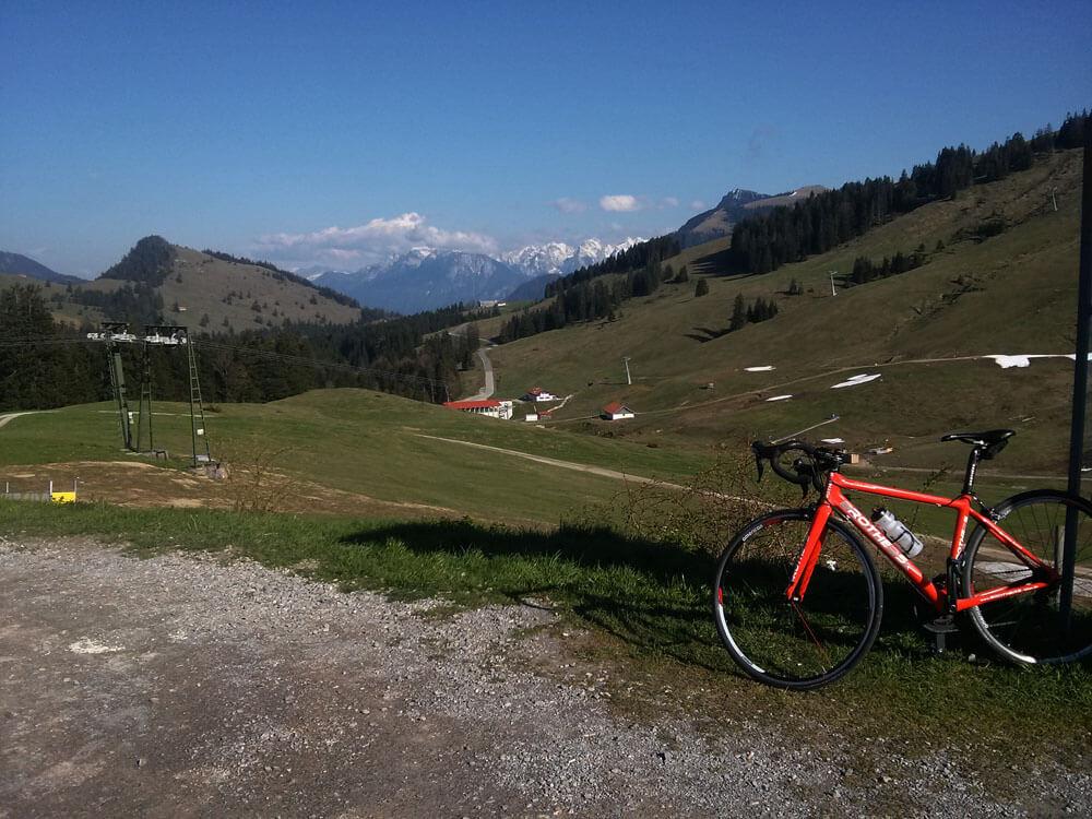 Rennradtour ab Rosenheim über Thiersee & Sudelfeld (110km, 1.600hm)