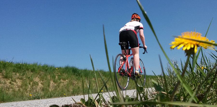 Rennrad Fahrradbekleidung Ausrüstung für Einsteiger