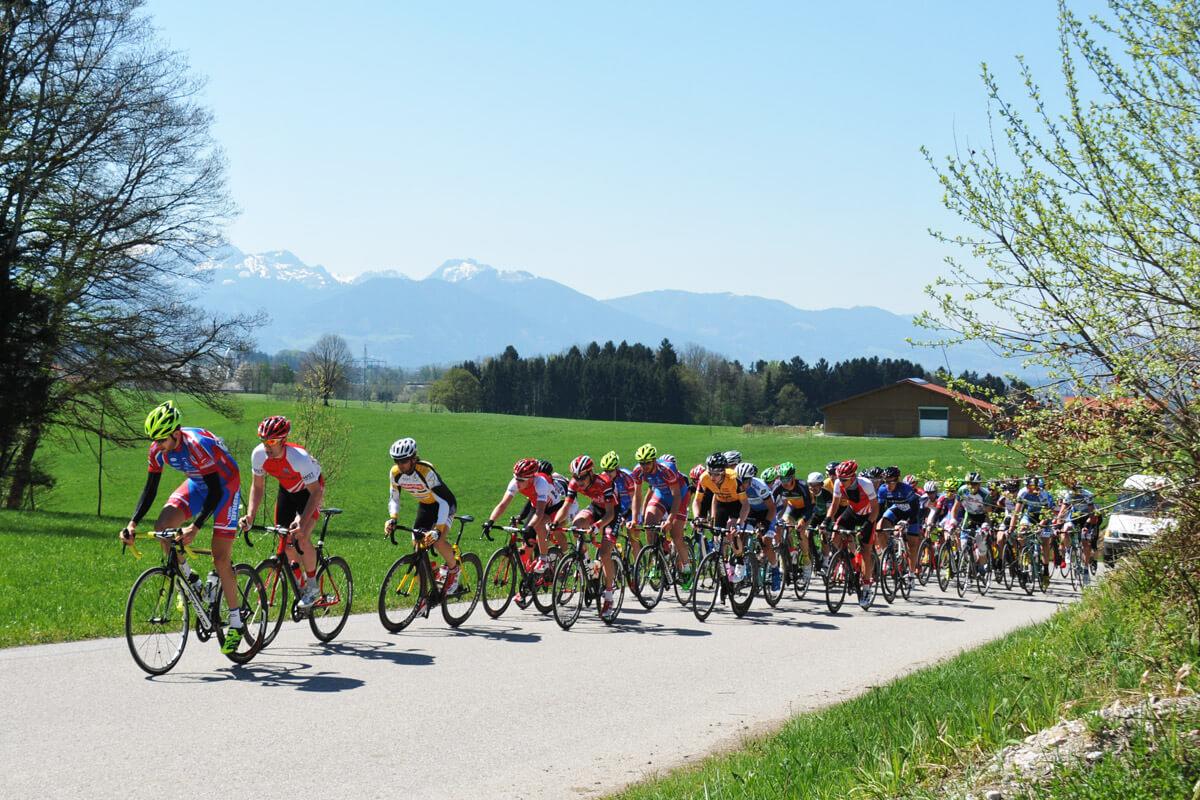 Radrennen in Rosenheim