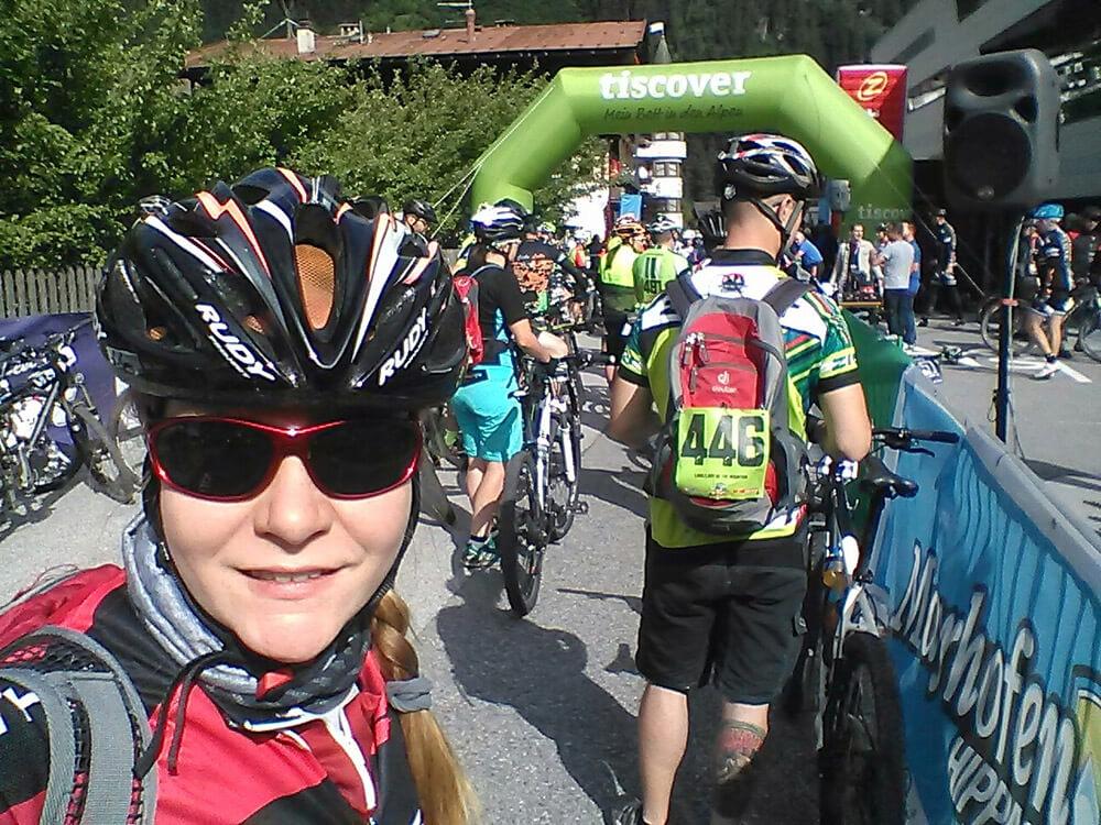 Gerade noch rechtzeitig am Start! Zillertal Mountain Challenge