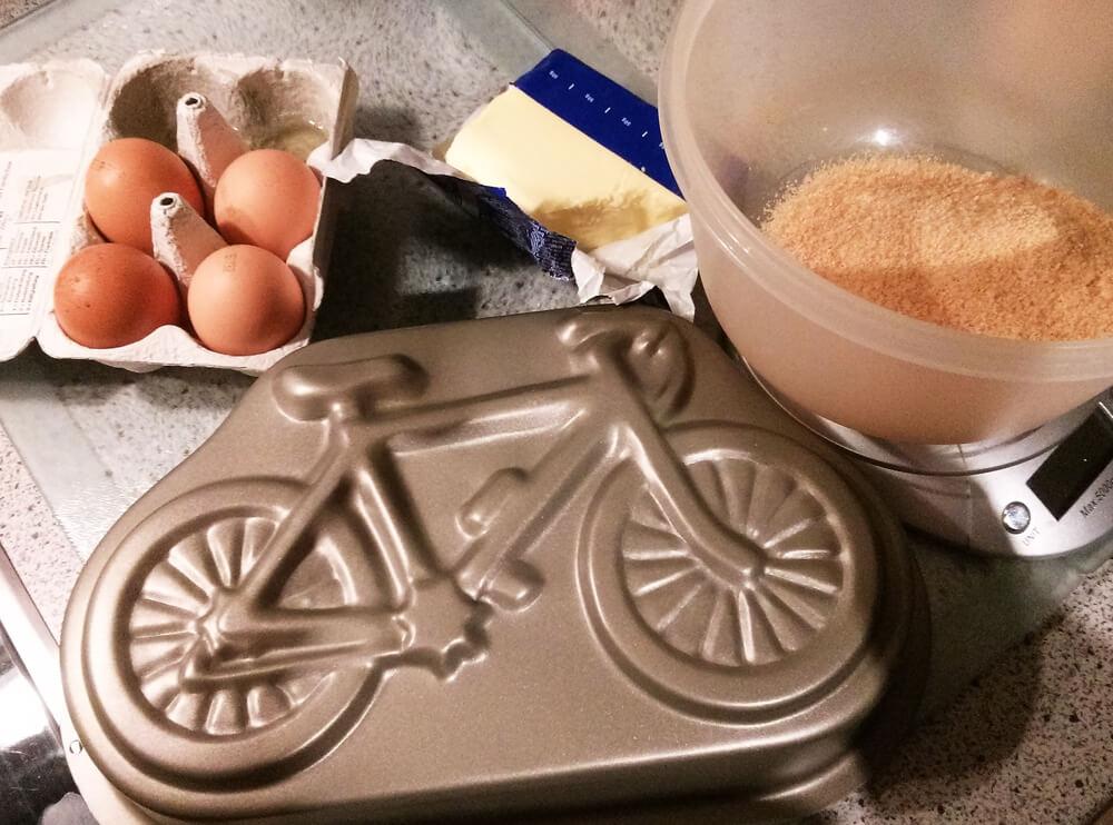 Fahrrad Kuchenform