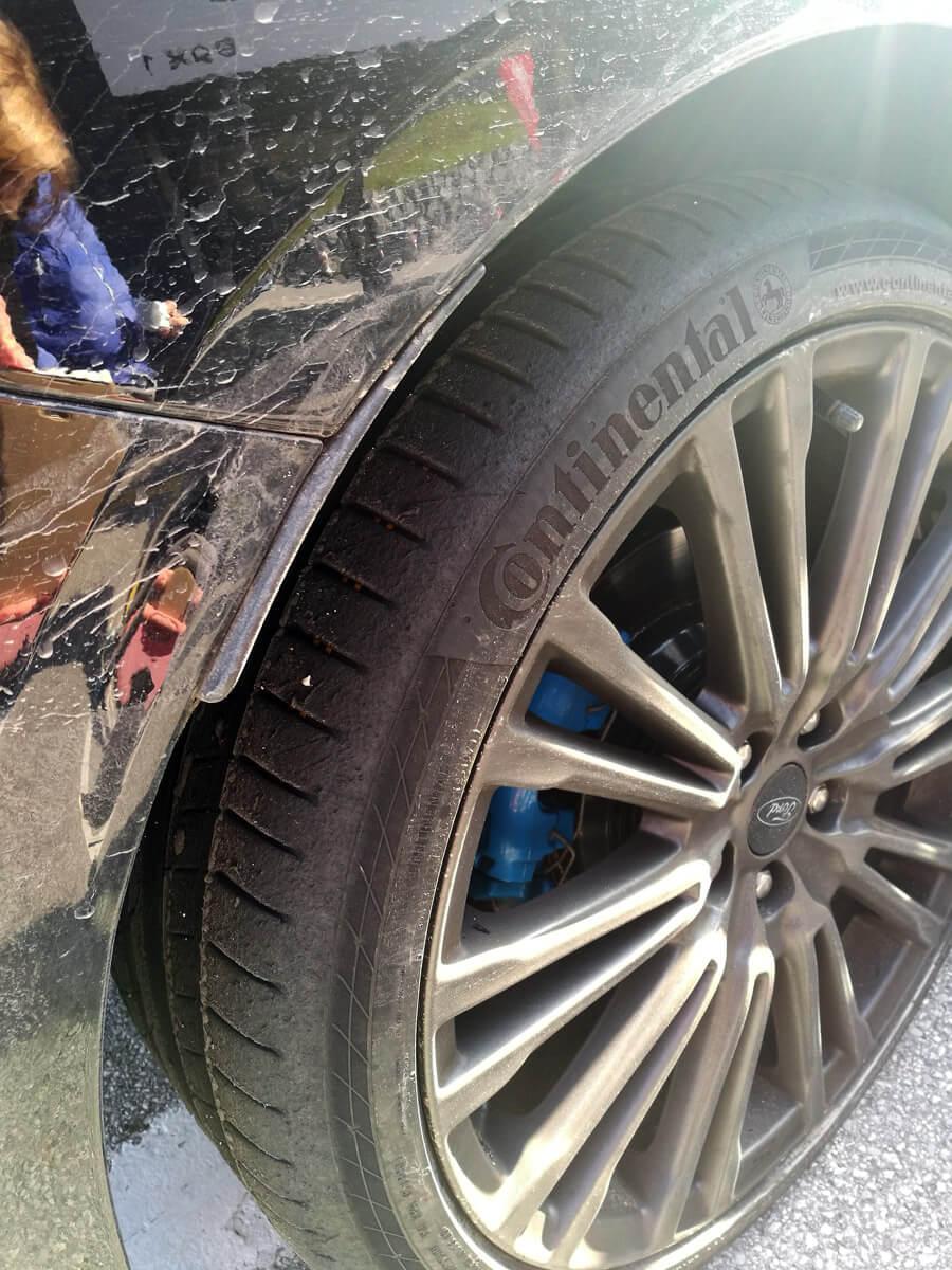 Verschleiß Reifen Rennstrecke