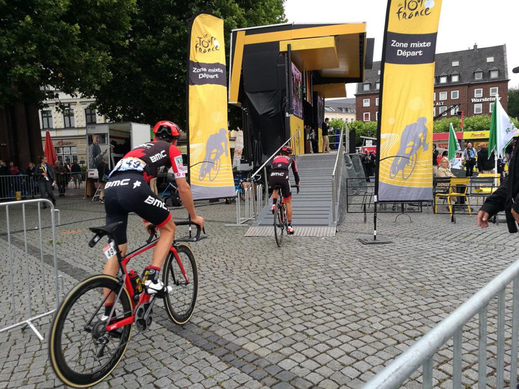 Einschreibung Tour de France Düsseldorf