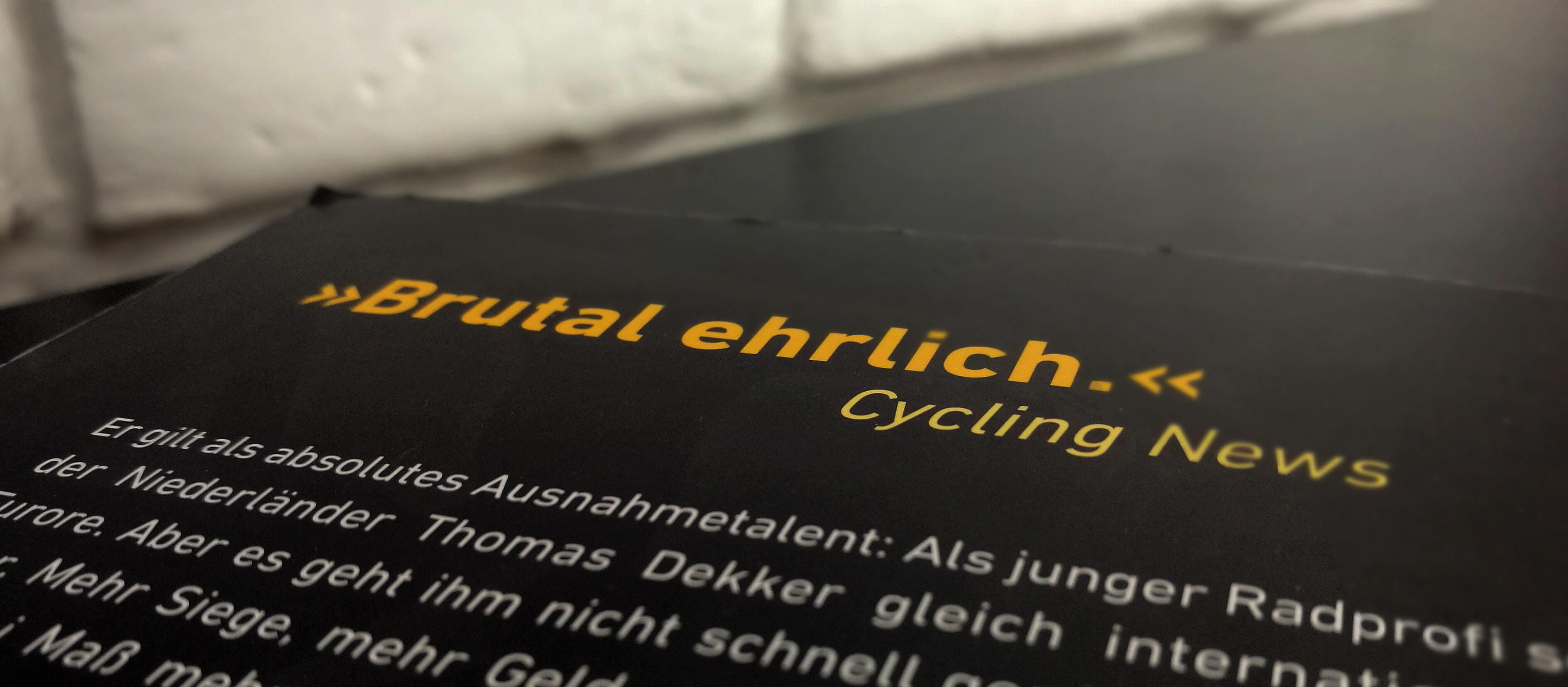 Doping Buch Thomas Dekker Mein Gefecht