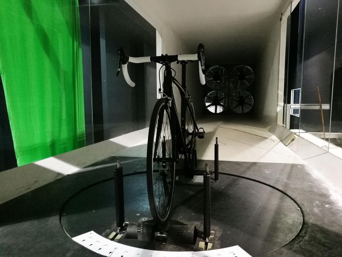 Windkanal BikeVille Incubator