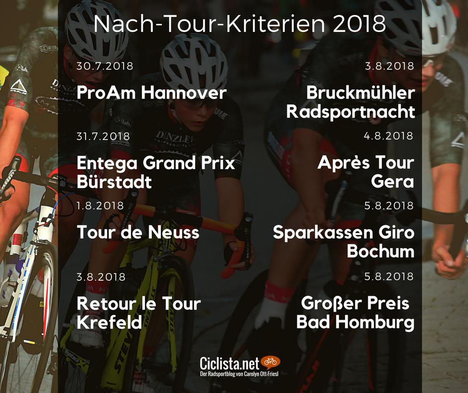 Nach-Tour-Kriterien Deutschland 2018