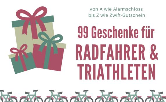 99 Geschenke Radfahrer Triathleten