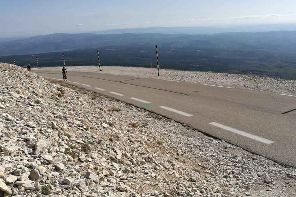 Auffahrt Mont Ventoux