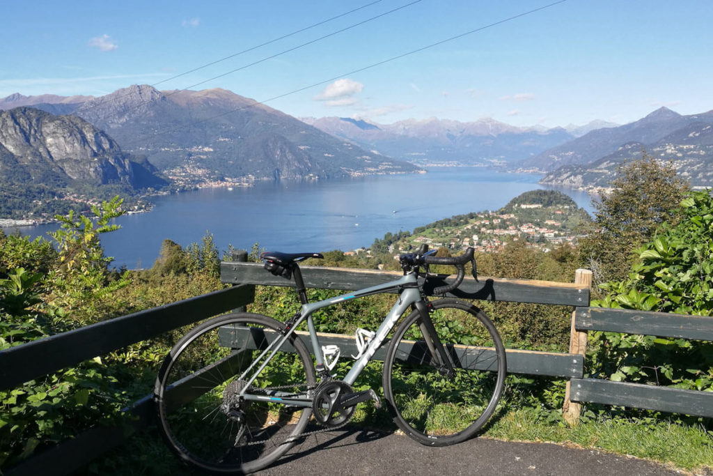 Ausblick Comer See Bellagio