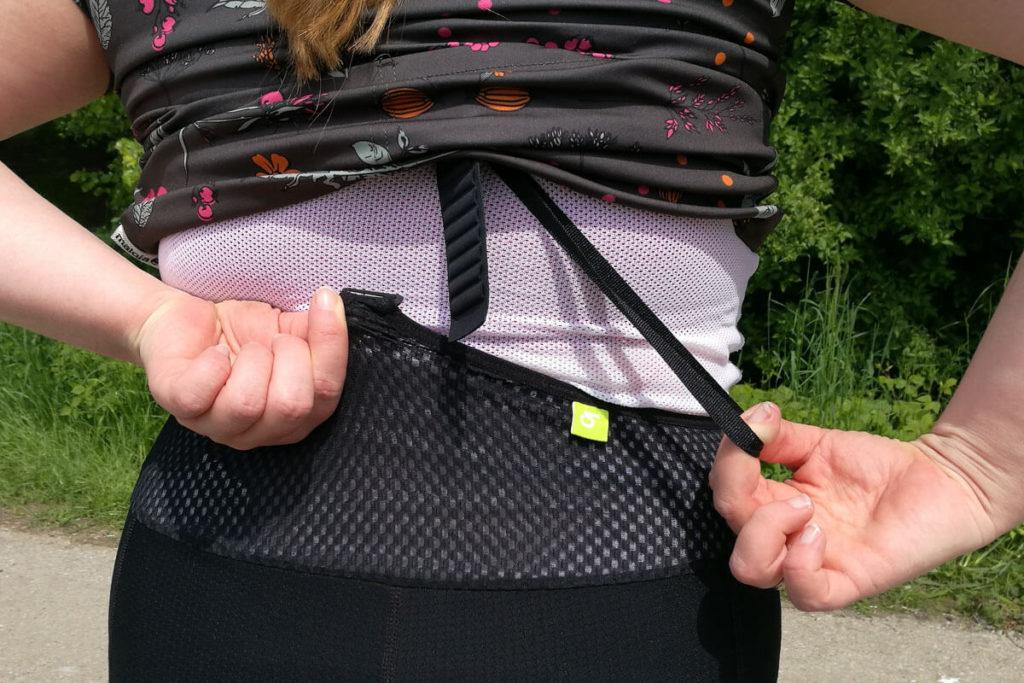 Craft Frauenradhose Rückholband