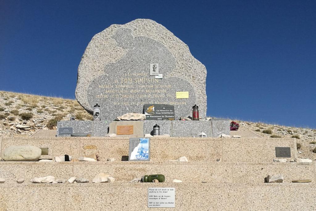 Denkmal Tom Simpson Mont Ventoux