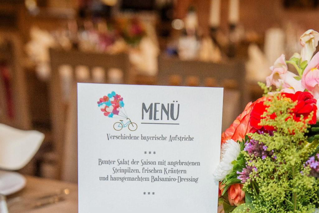 Hochzeitspapeterie Fahrrad