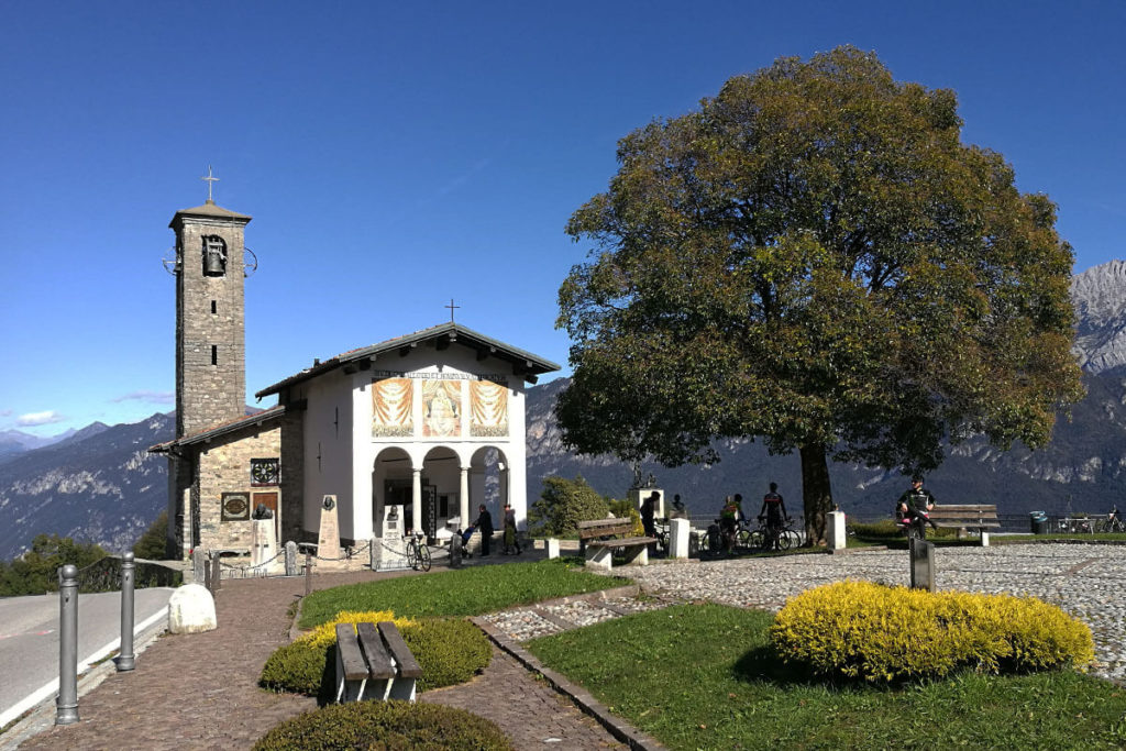 Madonna del Ghisallo - Schutzheilige der Radfahrer