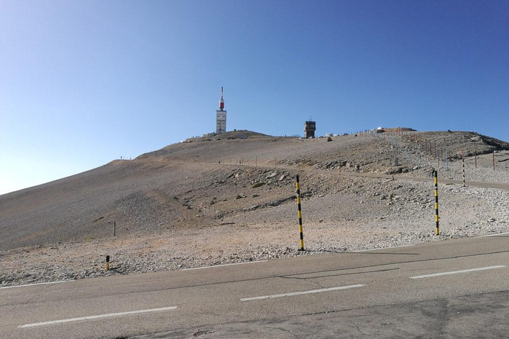 Mont Ventoux - Blick auf den Gipfel