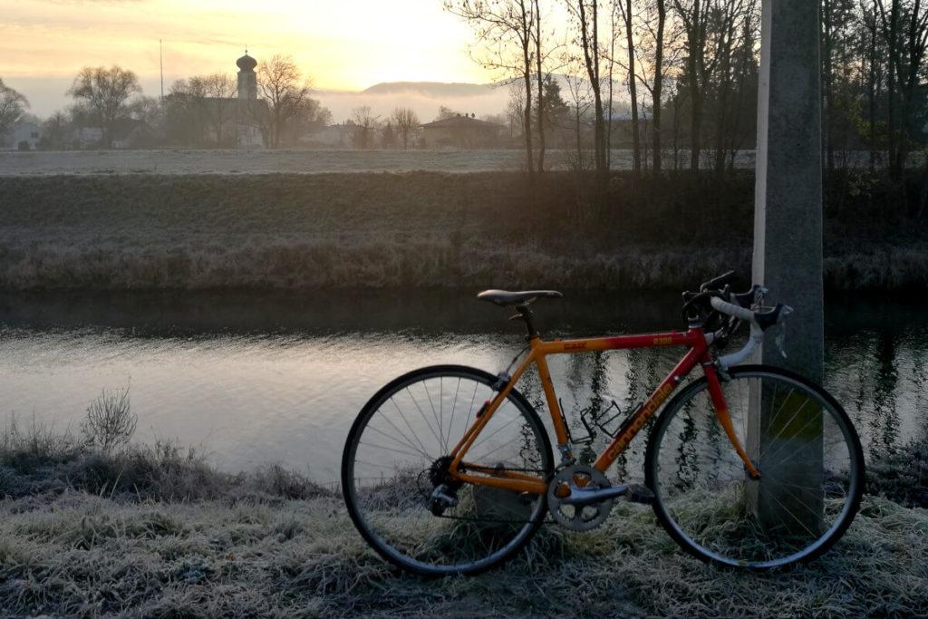 mit dem rad zur arbeit winter